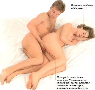 Анальный секс женщины ощущения