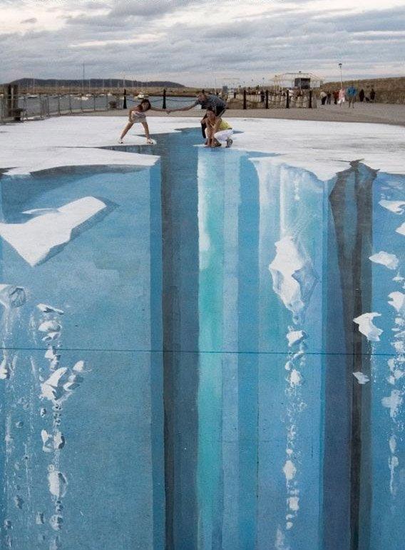 Рисуем ледниковый период