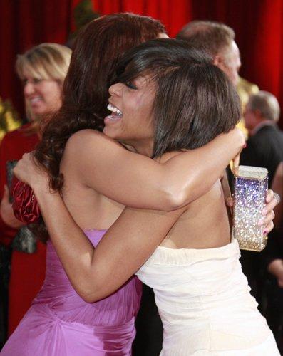 Оскар 2008 Алиша Кис и Параджи П. Хенсон