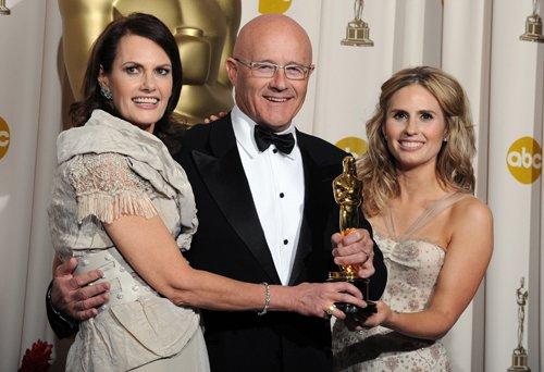 Оскар 2008 Оскар Хита Леджера получили его родители и сестра. Они пообещали отдать статуэтку дочери Хита Матильде, когда той исполнится 18 лет