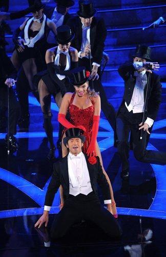 Оскар 2008 Бейонсе и Хью Джекман