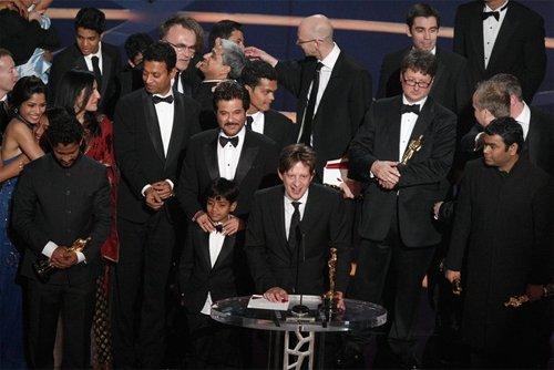 Оскар 2008 Актеры и создатели фильма «Миллионер из трущоб»