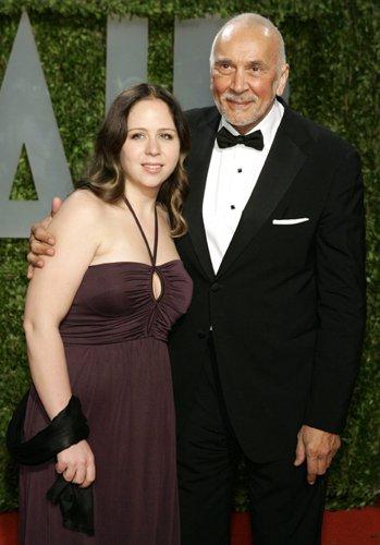 Оскар 2008 Френк Лангелла с дочерью Сарой