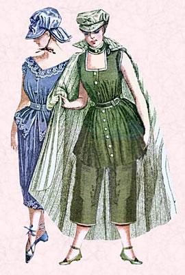 Купальные костюмы прошлого