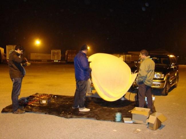 Фотографии с воздушного шара