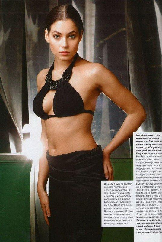 Юлия Снигирь в FHM