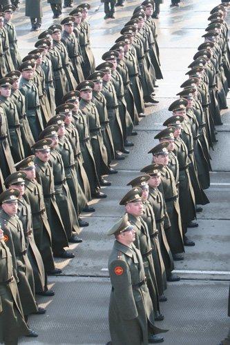 Подготовка парада