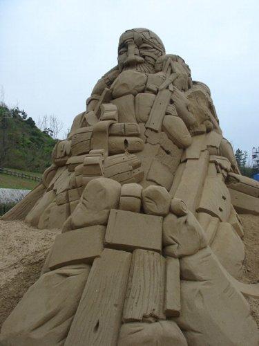 Фестиваль песчаных фигур