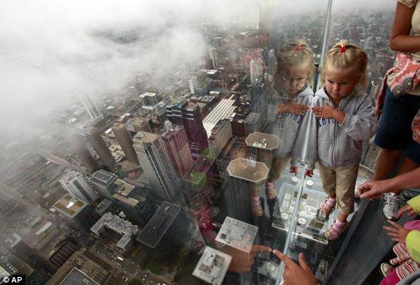 Смотровая площадка в Чикаго