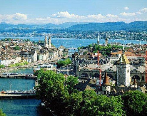 Самые дорогие города мира 6 место Цюрих, Швейцария (9)
