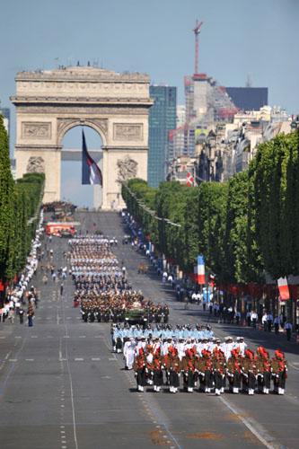Парад в честь Дня взятия Бастилии