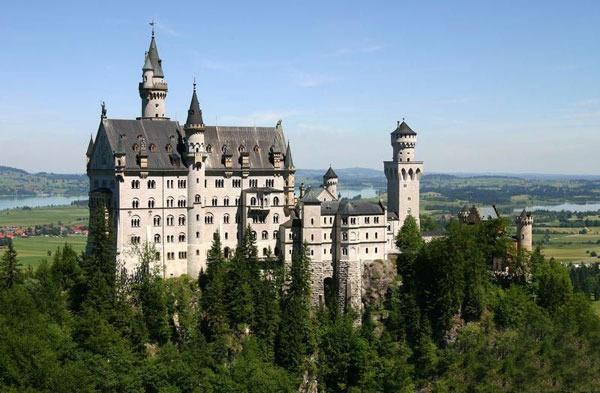 Нойшванштайн – замок мечты короля Людвига Баварского