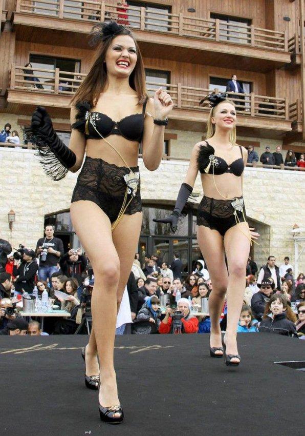 Показ белья K-Lynn Lingerie в Ливане