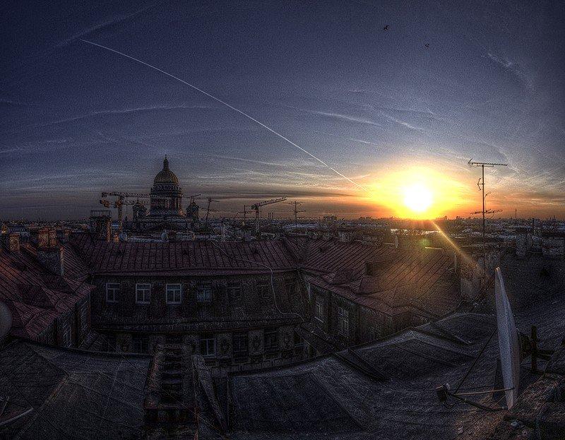 Утро в Питере