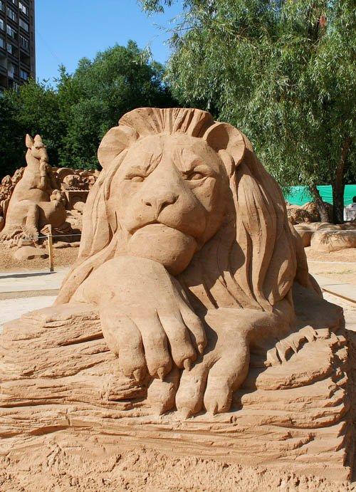 Статуэтки из песка своими руками