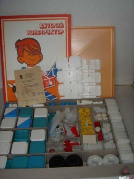 Игрушки советских детей