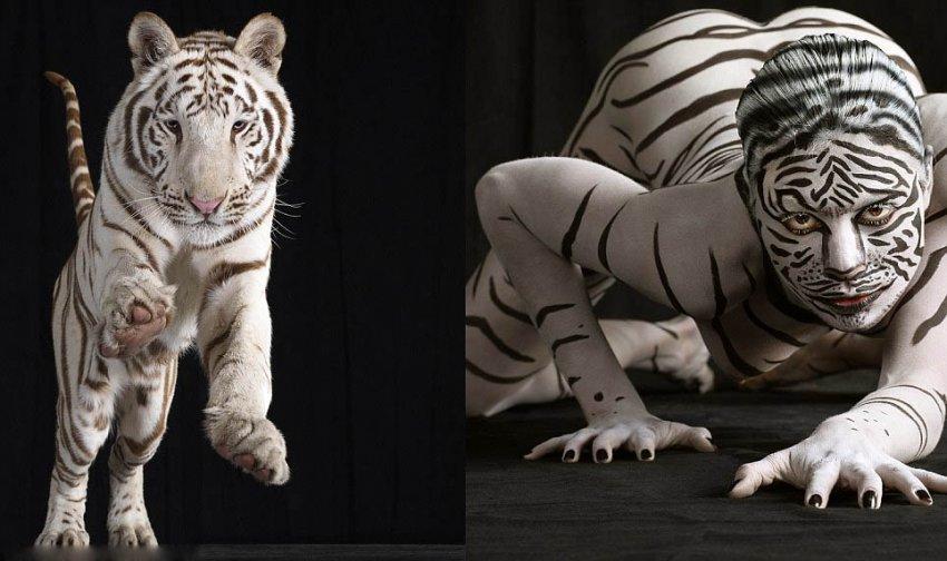 Бодиарт: животные инстинкты