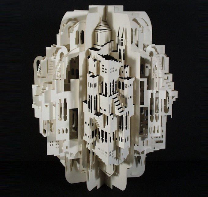 Бумажная архитектура Ingrid Siliakus