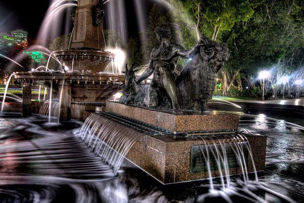 Красивейшие фонтаны мира Фонтан Арчибальда (Archibald) в Австралии