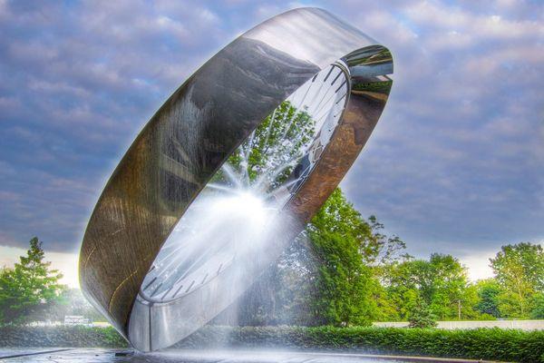Красивейшие фонтаны мира Фонтан 71, Огайо