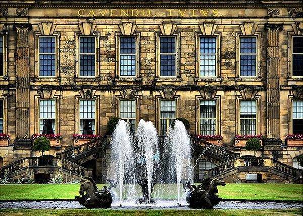 Красивейшие фонтаны мира Фонтан Чатсуорт-хаус, Дербшир, Англия