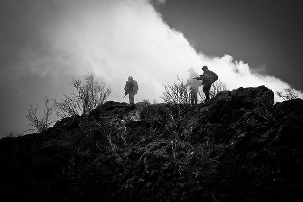 Французский Легион Ежедневные марш-броски по пустыне обычное дело для легионера.
