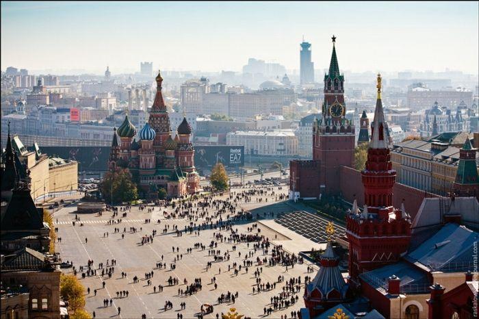 Фотографии современной Москвы