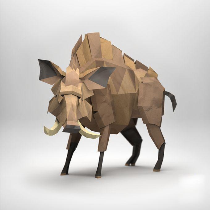 Серия оригами «Бумажная лиса»