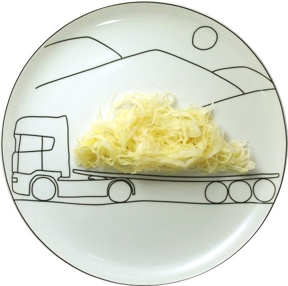 Тарелки для веселого обеда