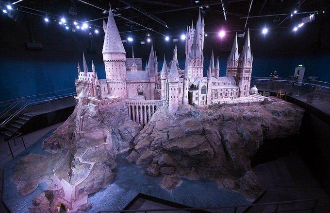 Модель замка Хогвардс