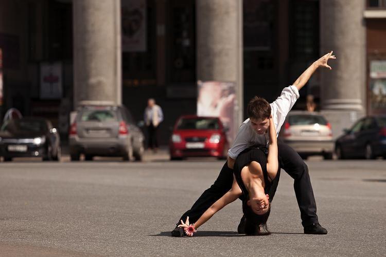Танцевальный стоп-кадр