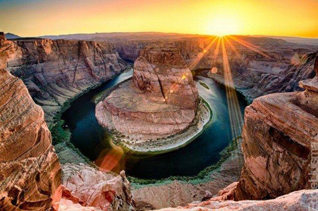 Красивейшие каньоны мира Каньон Глен, Аризона, США