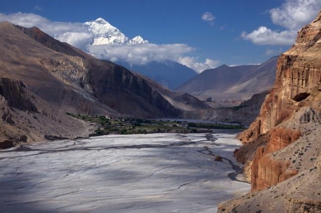 Красивейшие каньоны мира Kali Gandaki Gorge, Непал