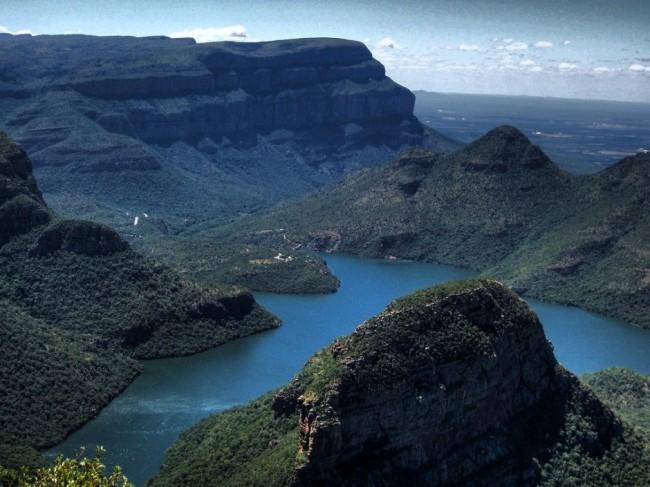 Красивейшие каньоны мира Каньон реки Блайд, Африка