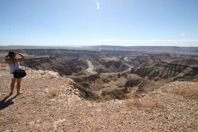 Красивейшие каньоны мира Каньон реки Fish (Рыба), Южная Намибия