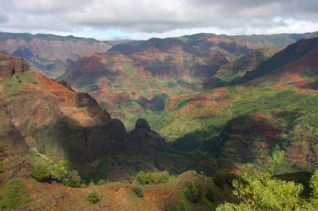 Красивейшие каньоны мира Каньон Ваймеа, Гавайи