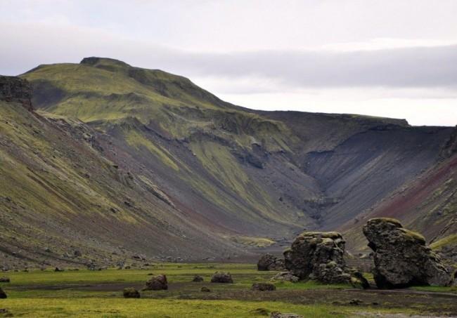 Красивейшие каньоны мира Элдгея, Исландия