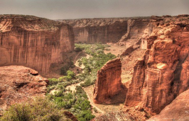 Красивейшие каньоны мира Canyon De Chelly, Аризона, США