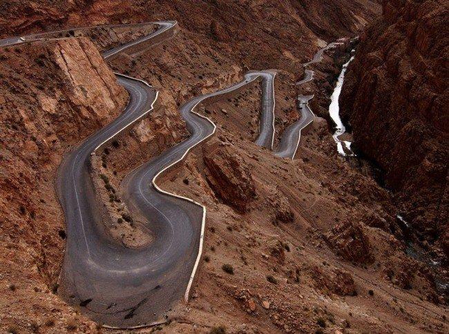 Красивейшие каньоны мира Dadès Gorge, Морокко