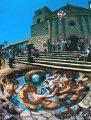 Фотогалерея - Объемные рисунки на асфальте (Street Painting - 3D)