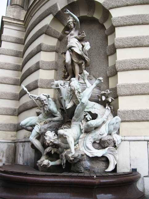 Музеи и достопримечательности Вены Фонтан «Macht zur See»