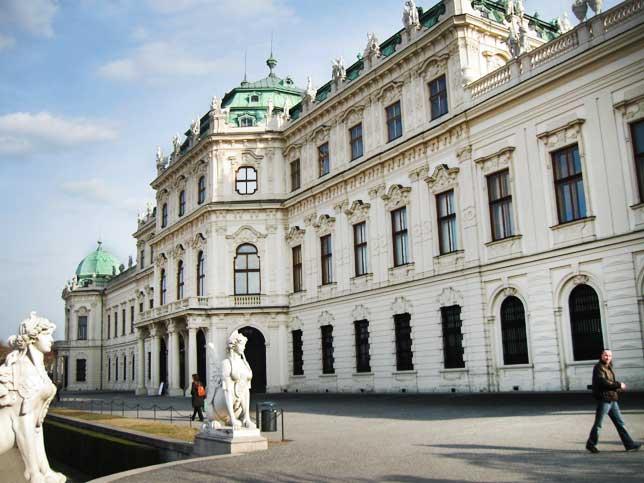 Музеи и достопримечательности Вены Верхний Бельведер
