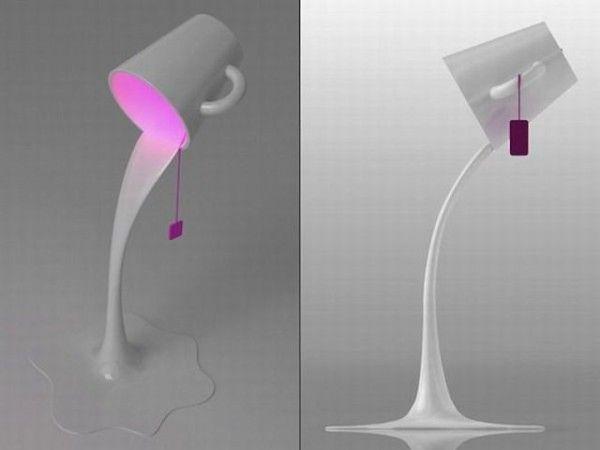 Креативные вещички А это вообще не чашка, а светильник