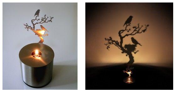 Креативные вещички Очень оригинальное решение - здесь важен не сколько свет, сколько тень