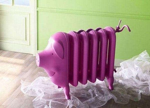 Креативные вещички Батарея отопления