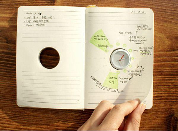 Креативные вещички С ним планирование рабочего дня (и не только дня, и не только рабочего) выглядит очень наглядно