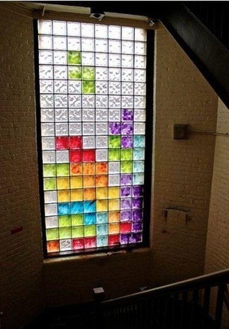 Креативные вещички Как разнообразить скучную лестницу