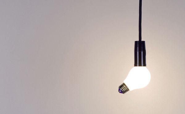 Креативные вещички Лампа с двумя цоколями