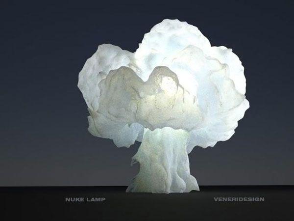 Креативные вещички Лампа - ядерный взрыв