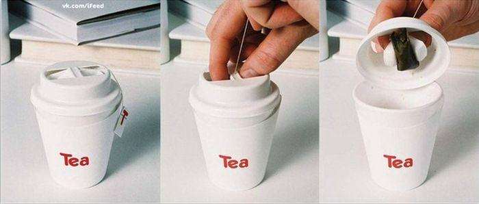 Креативные вещички Стаканчик с отжимом для чая